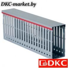 00140RL Короб перфорированный, серый RL12 100x60