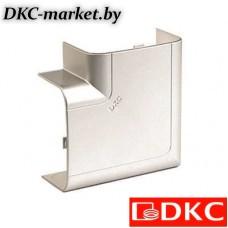 01003G Угол плоский 110х50 мм, цвет серый металлик