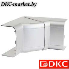 01051G Угол внутренний 110х50 мм, изменяемый (70-120°), цвет серый металлик