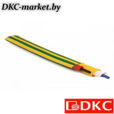 2NA201R127GY Термоусаживаемая трубка в рулоне 12,7/6,4 мм желто-зеленый