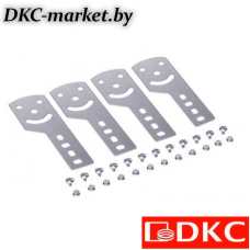 30014KHDZL Пластина крепежная GSV H80 (4 шт.) в комплекте с метизами, необходимымидля монтажа, цинк-ламельная