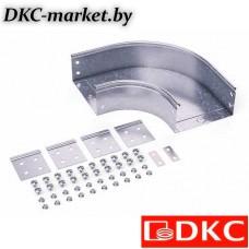 36007K Угол CPO 90 горизонтальный 90° 500х50 в комплекте с крепежными элементами и соединительными пластинами, необходимыми для монтажа