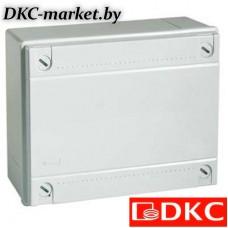53811 Коробка ответвит. с гладкими стенками,  IP56, 100х100х50мм,цвет красный