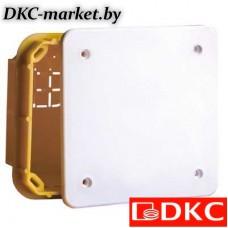 59361 Коробка ответвительная прямоуг. для твердых стен, IP40, 92х92х45мм
