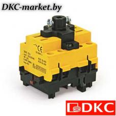 AE1603B Выключатель нагрузки трёх полюсный  с установк. на монтажн. плату