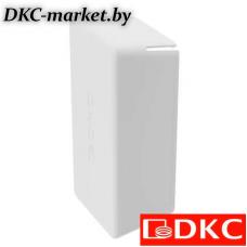 BPO4121RAL9010 Заглушка торцевая для одиночного С-образного профиля 41x21 мм, белаяRAL9010