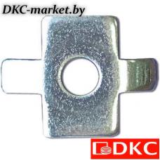 CM180600 Шайба четырехлепестковая для соед. провол. лотка (в соединении с винтом M6x20)