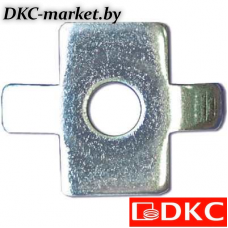 CM180600HDZ Шайба четырехлепестковая для соед. провол. лотка (в соединении с винтом M6x20) HDZ