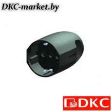 DIS1302083 Розетка кабельная, бытовая с центральным вводом кабеля. Белая. IP20 16А 2P+E 230В