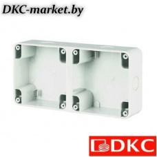 DIS137102 Коробка для настенной установки на 2 поста