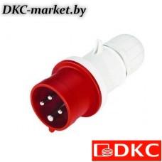 DIS2131633P Вилка кабельная с безвинтовыми клеммами IP44 16A 2P+E 230В
