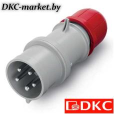 DIS2133237 Вилка кабельная IP44 32A 3P+E+N 400V