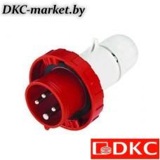 DIS21812533 Вилка кабельная IP67 125A 2P+E 230V