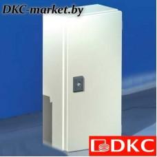 R5CDE32120C Сварной металлический корпус CDE, 300х200х120 мм, с дверцей, IP55