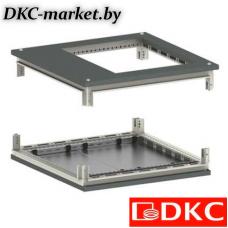 R5KTB88FIT Крыша с фланцем и основание для IT корпусов CQE 800 x 800 RAL7011