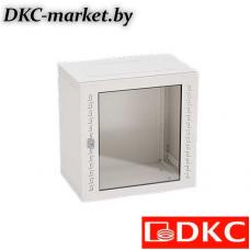 R5STI1640GS Шкаф телекоммуникационный навесной, 16 U (800х600х400) дверь стекло,RAL7035