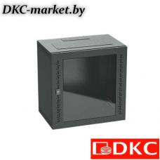 R5STI1640GSB Шкаф телекоммуникационный навесной, 16 U (800х600х400) дверь стекло,RAL9005