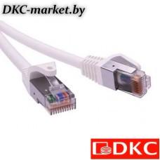 RN5EFU4500WH Патч-корд экранированный CAT5E F/UTP 4х2, LSZH, белый, 10.0м